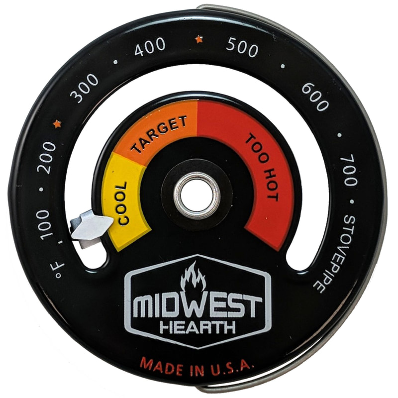 Stovepipe thermometers