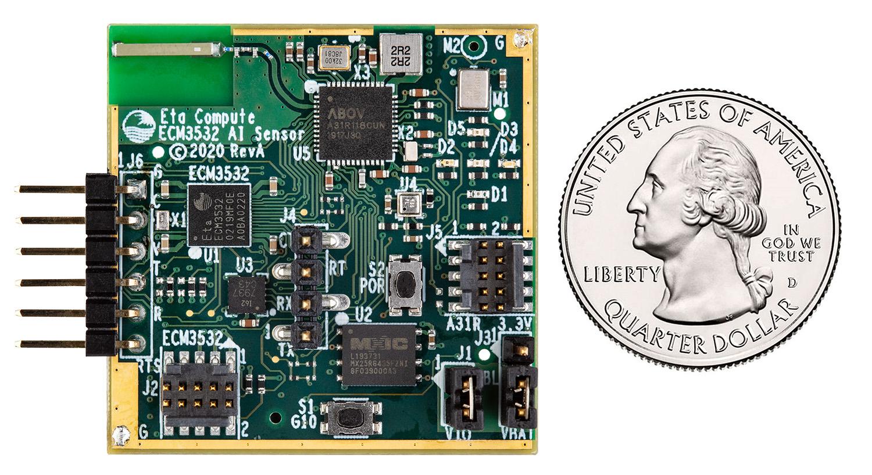 Eta Compute ECM3532 AI Sensor