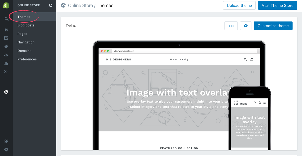 Click Themes from Online Strore