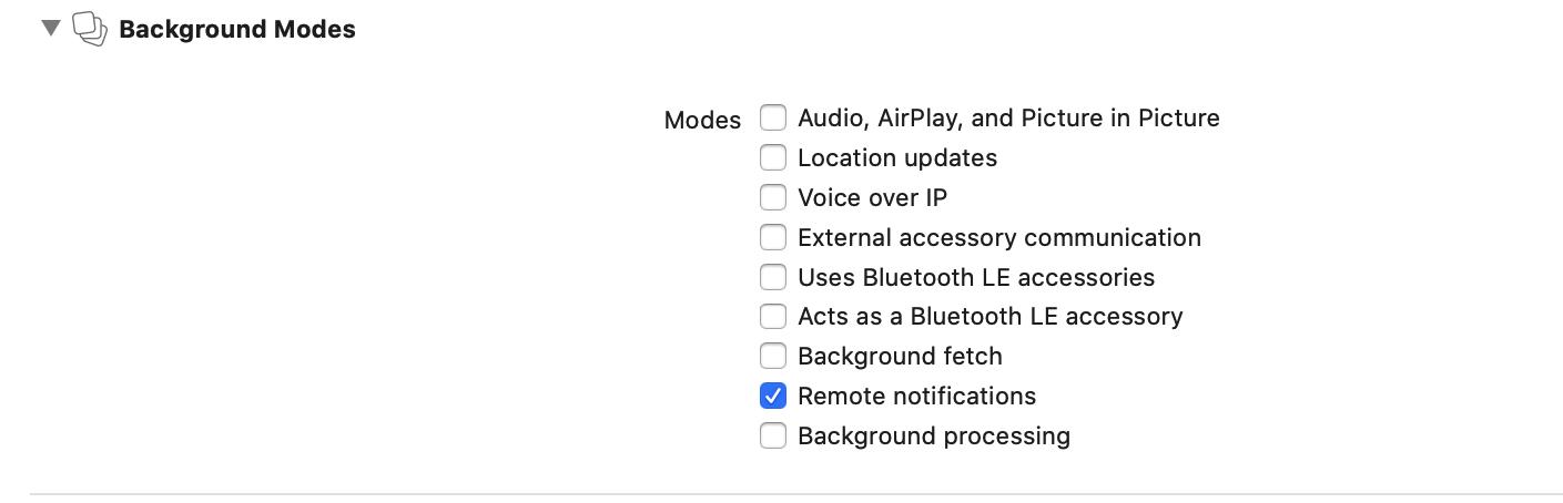 add remote notificatio permission, for your ios app