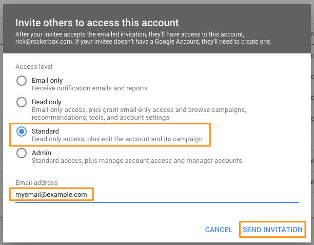 AdWords Manager Accounts