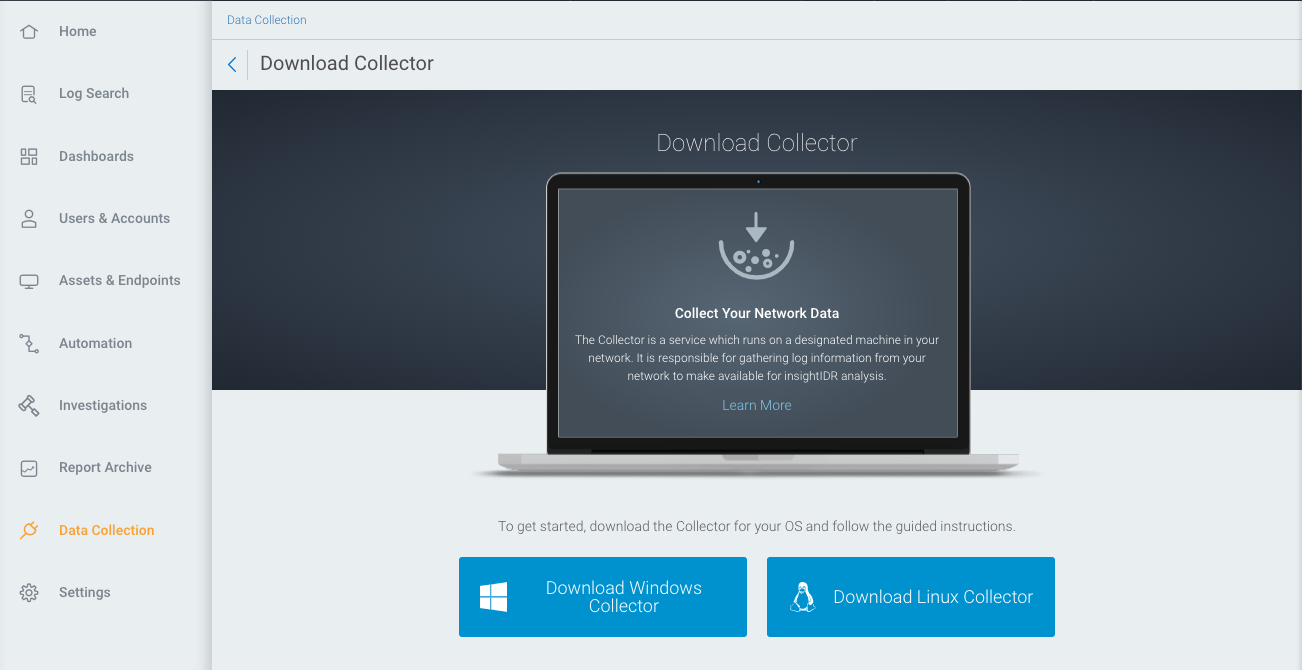 Collector Installation and Deployment