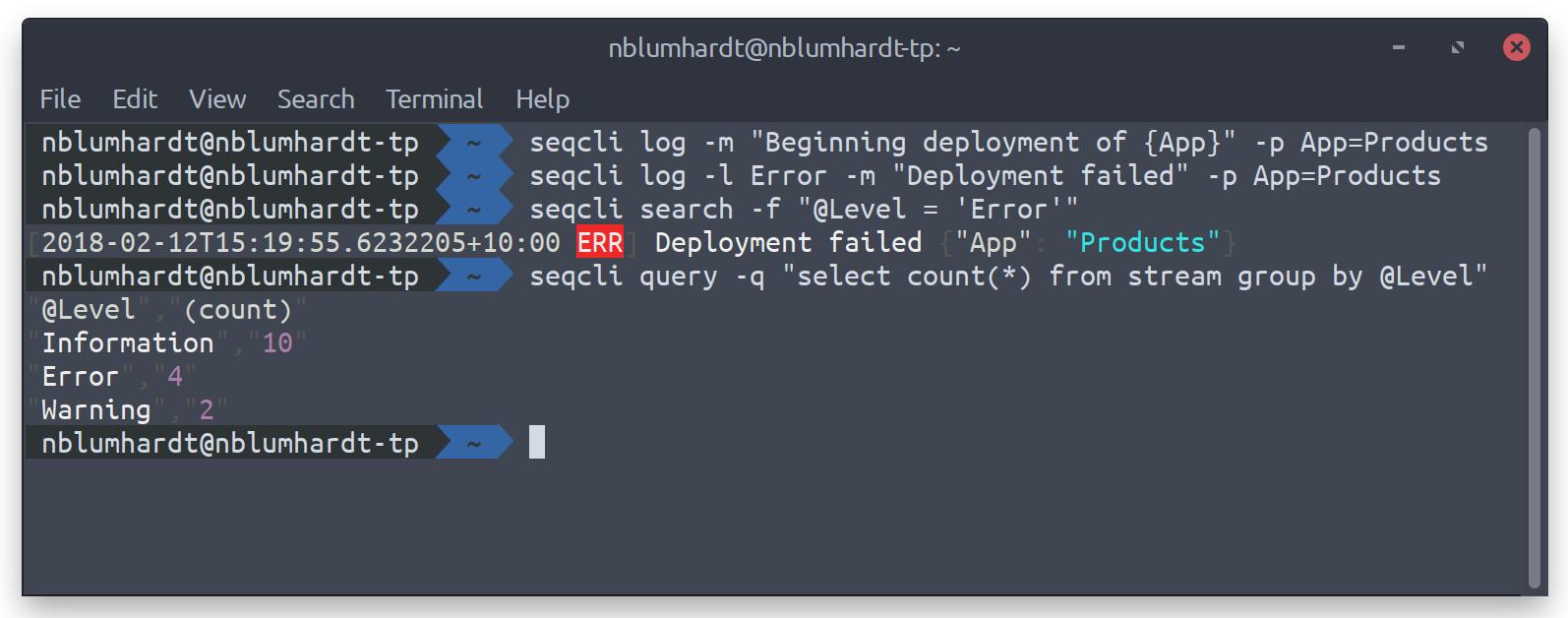 Command-line Client