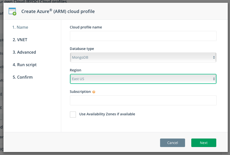 Step 1: Enter your Azure Subscription ID