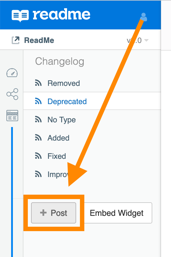 """To delete a post, hover over any title and click the red """"X"""" that appears"""