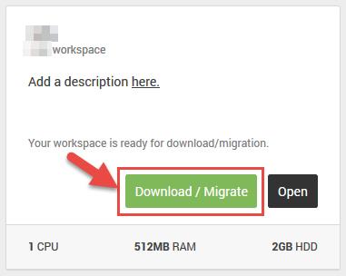 Migrating to AWS Cloud9 · Cloud9