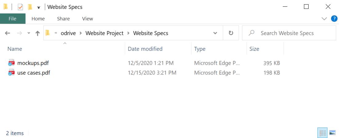 Full desktop sync integrated with Windows Explorer