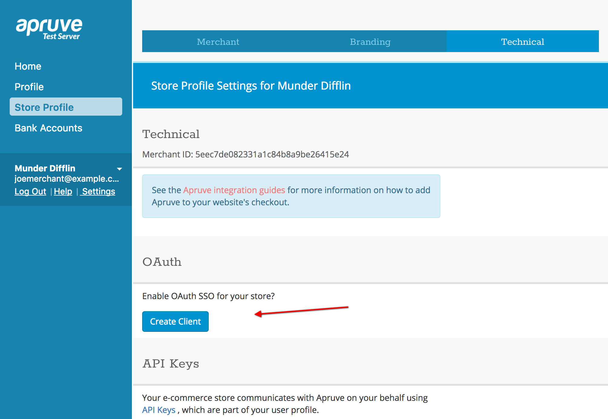 OAuth single sign-on