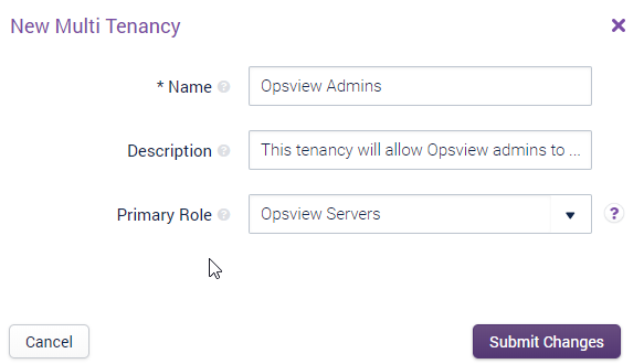 Add your multi tenancy details