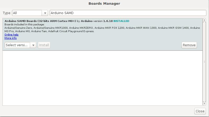 Arduino SAMD