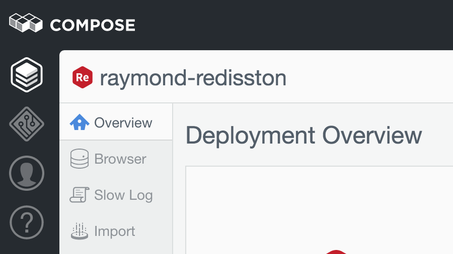 Slow Log access from the sidebar in the Compose UI.