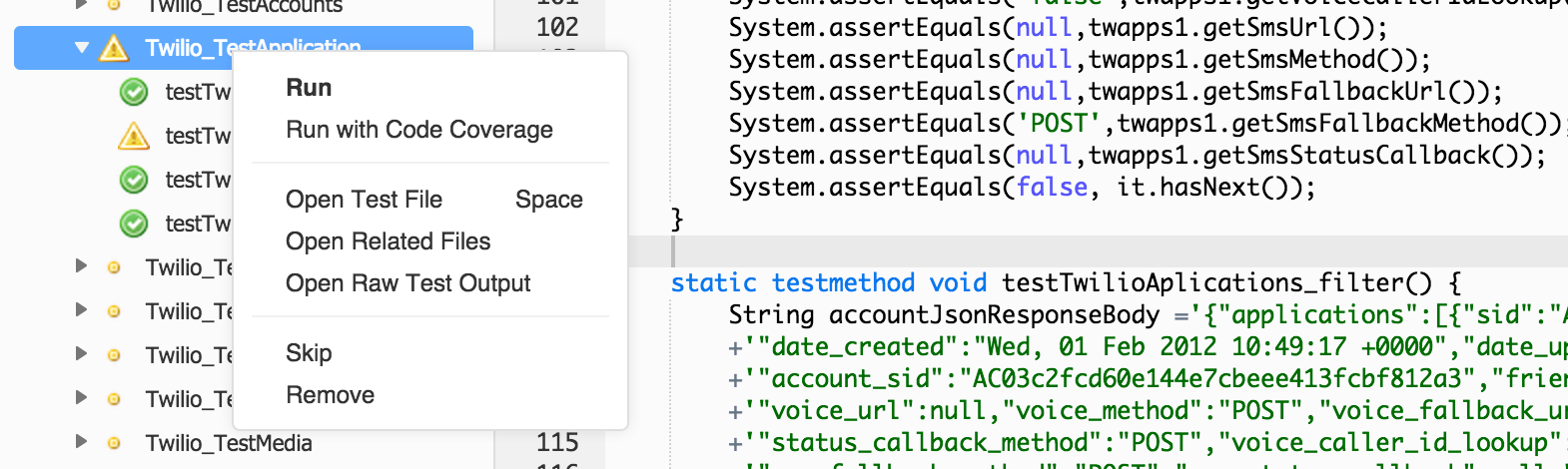 Apex Test Runner · Cloud9 for Salesforce Developers