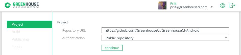 Adding a public Git repository.