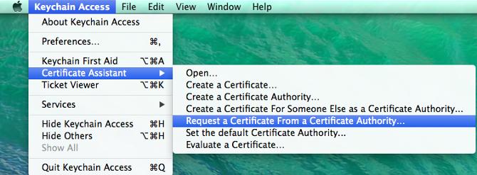 Generate an iOS Push Certificate